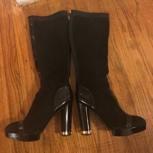 Tory Burch black boots size 9
